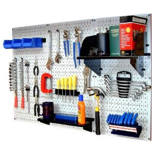 Garage Workbench Pegboard
