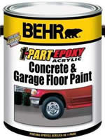 Behr Garage Floor Paint 1 Part Epoxy