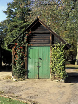 English Garden Shed Fine Details Bring Attention And