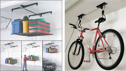 Bicycle Hoist Garage Ceiling Storage Overhead Storage