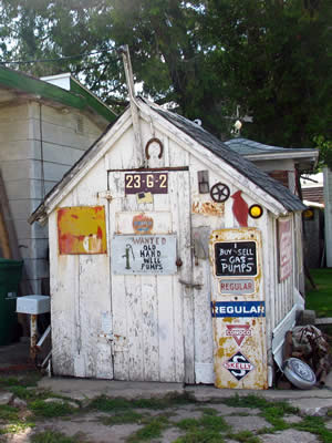 A Wooden Shed With Character Decorate Your Own Shed Just