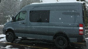 Mercedes Benz 4x4 Sprinter Van - Requires 10 Foot Tall Garage Doors