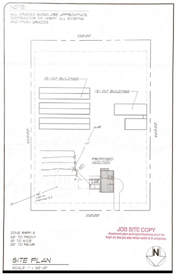 Garage Site Plan Example - How To Build a Garage